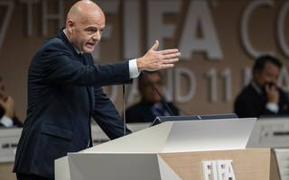 fifa-bashing has become a sport, says defiant infantino