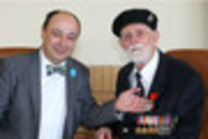 france honours notts normandy veteran with highest accolade