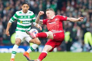 aberdeen star jonny hayes could have been at celtic if i hadn't convinced him to move south