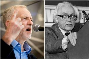 we compared labour's draft manifesto with the left-wing policies of michael foot in 1983