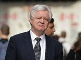 david davis accuses eu chief of trying to get him sacked