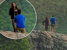 photographer accidentally shot the wrong couple's proposal