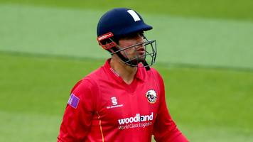 one-day cup: alastair cook's unbeaten 67 guides essex to victory over middlesex