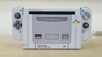 This Super Famicom Nintendo Switch Skin is a Work of Art