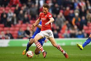 bristol city transfer target marley watkins confirms he's leaving barnsley with emotional social media post
