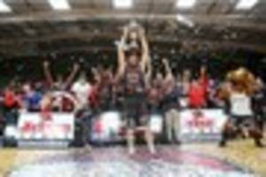 leicester riders hoping it's two down and one to go as they seek...