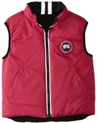 (video review) canada goose baby reversible cub vest