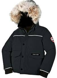 (video review) canada goose grizzly bomber jacket, black, 6-7