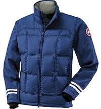 (video review) canada goose hybridge jacket - men's pacific blue small
