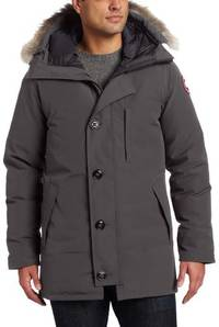 (video review) canada goose men's the chateau jacket, graphite, xx-large by canada goose