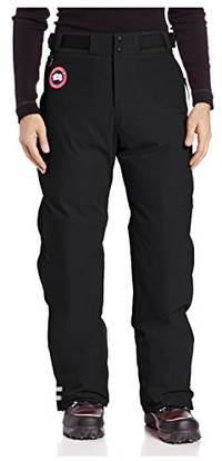 (video review) canada goose men's tundra pant, black, x-small