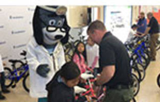 UnitedHealthcare Pro Cyclists and Sacramento County Sheriff's Activities League Help Educate Youth about Cycling and Helmet Safety