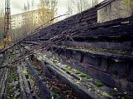 chernobyl football stadium shown deserted in new images
