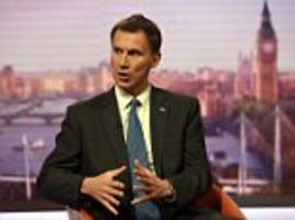 hunt's crackdown on care homes that cash in