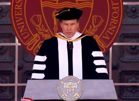 Will Ferrell Ends His USC Commencement Speech by Singing 'I Will Always Love You'