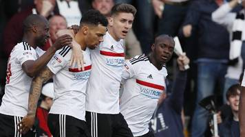 fulham and reading draw first leg of play-off semi
