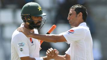 younus khan & misbah-ul-haq bow out of test cricket as pakistan face west indies