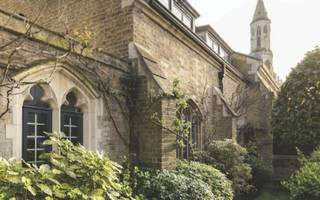 inside a gothic mansion in the heart of kensington