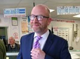ukip donor says paul nuttall could be gone within weeks
