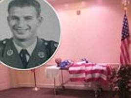 vet's body displayed without a coffin after lack of funds