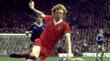 liverpool star david fairclough's shirt for sale