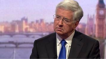 fallon on cyber security: 'we warned nhs' about old system