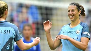 'i step it up for finals' - carli lloyd on man city cup win