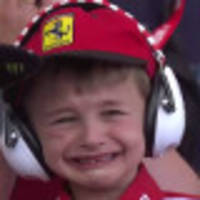 crying child highlights new face of f1