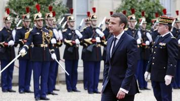 france's youngest president pledges to fix problems at home and abroad