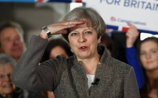 theresa may reveals a raft of new measures on workers' rights