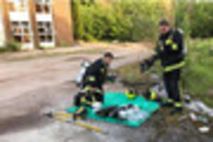 Blaze at former Tiverton chicken factory was deliberate say...