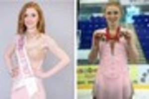 uttoxeter ice-skating queen launches miss staffordshire 2017 bid...