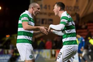 celtic ace callum mcgregor happy to shine in scott brown role but says skipper doesn't need to worry yet