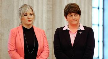 foster caught up in sexism row with sinn fein over 'blonde' reference to rival o'neill