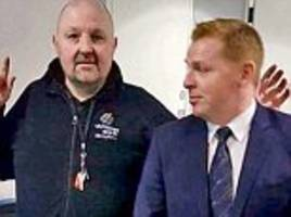 hearts fan claims he quit his job after neil lennon prank