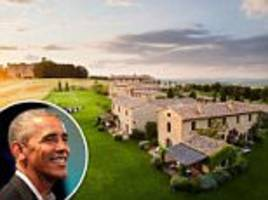 the $15k-a-night tuscan village the obamas are staying in