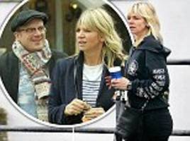 Zoe Ball steps out for first time since Billy Yates' death