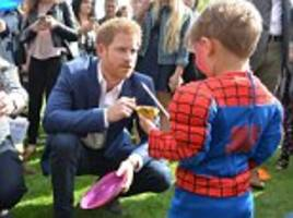 EPHRAIM HARDCASTLE: Will Prince Harry get new role?