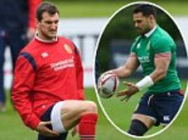 sam warburton joins lions squad for first training session