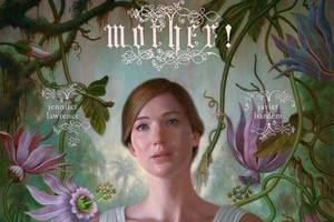 jennifer lawrence tears out her own, bloody heart in 'mother!' poster