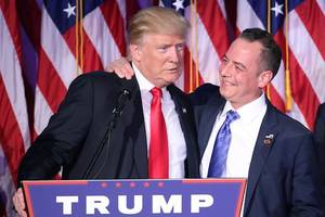 reince priebus warns white house staffers to stop giving fake news to trump