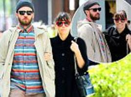 justin timberlake and jessica biel in nyc on mother's day