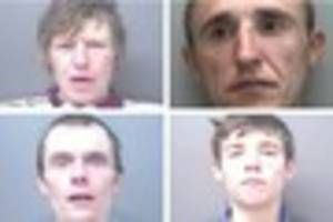 Police are hunting these four Hull men after string of burglaries
