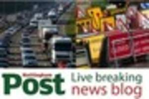 Breaking news, travel and weather updates around Notts on Monday,...