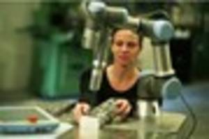 A Plymouth company is making robots that could replace bar staff