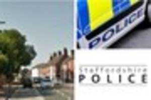 Lichfield couple come home to find burglar trying to steal their...
