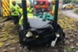 Teen suffers head injuries after crash near Fort Shopping Park in...