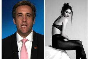 donald trump's lawyer michael cohen defends tweeting 'super creepy' picture of daughter in lingerie