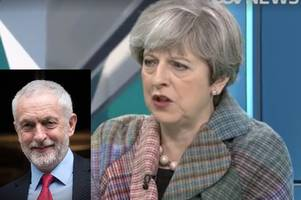 jeremy corbyn trolls theresa may on prime minister's first facebook live q&a