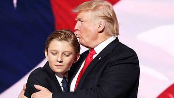 barron trump to attend maryland school after white house move